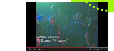 video montaza proslava